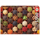 Puzzle of 1500 pieces, herbs and spices