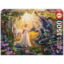 Puzzle DisneyPrincess Puzzle 1500 pieces Dragon