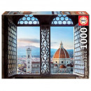 Puzzle 1000 pieces View of Florence