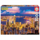 1000 Pieces Puzzle Hong Kong Skyline