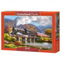 Puzzle 500 pieces Iron Horse Train