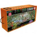 Puzzle 33,600 pieces, Wild Life