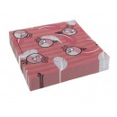 Napkins birthday Angry Birds Pink - 33 cm
