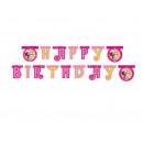 Birthday banner Happy Birthday Mia and Me - 180 x