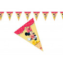 Minnie Mouse Cafe Fahne Banner Cafe - 230 cm