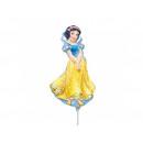 Foil balloon to stick Snow White - 37 cm