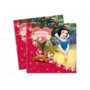 Snow White születésnapi szalvéták - 33 cm - 20