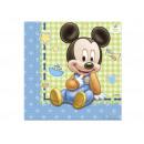 Birthday napkins Small Mickey - 33 cm - 20 pcs