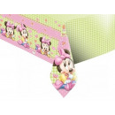Birthday tablecloth Small Minnie - 120 x 180 cm -