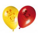 Birthday balloons Mickey Mickey - 28 cm - 8 items