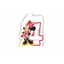 wholesale Party Items: Candle number four 4 Minnie Cafe Ka