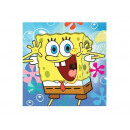 Napkins birthday SpongeBob 33 cm 20 pieces