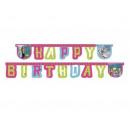 Birthday banner Happy Birthday frozen - Kra Lo