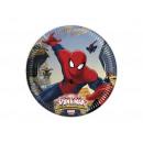 Großhandel Lizenzartikel: Ultimate Spiderman Web Warrio Geburtstag Trinkgläs