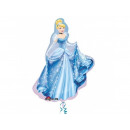 wholesale Licensed Products: Foil balloon  Cinderella - 71 x 84 cm - 1 pc.