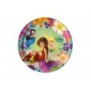 Fairies cumpleaños de Fairies - 20 cm - 8 piezas