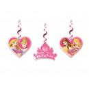Hanging birthday Princess - Princess decoration