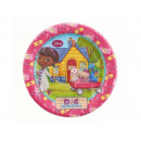 Dosia Birthday Plates - Doc McStuffins