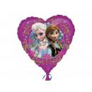 mayorista Articulos de fiesta: globo de la hoja del corazón frozen de 47 cm