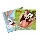 wholesale DVD & TV & Accessories: Looney Tunes birthday napkins - 33 cm - 20 pcs