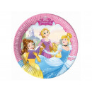 Piastre di compleanno Princess - 20 cm