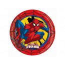 Paper plates birthday Spiderman 23 cm