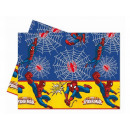 Ultimate Spiderman Power birthday tablecloth - 120