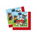 Napkins birthday Psi Patrol - 33 cm - 20 pieces