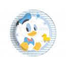 Small Mickey birthday cake - 20 cm - 8 pcs