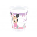 wholesale Party Items: Birthday Mug Little Minnie - 200 ml - 8 items