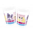 Blikken verjaardag Littlest Pet shop - 200 ml - 8
