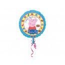 Foil balloon Peppa Pig Happy Birthday - 43 cm
