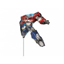 Foil balloon to stick Transformers Optimus Prime