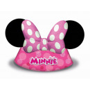 wholesale Accessories: Minnie Mouse paper tiara - 6 items