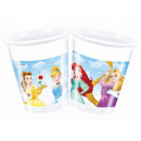 wholesale Party Items: Cups Birthday Princess - Princess - 200 m