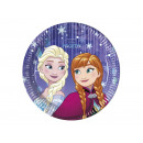 groothandel Licentie artikelen: Plates verjaardag  frozen - Frozen - 20 cm