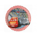 wholesale Party Items: Plates birthday Cars 3 - 20 cm - 8 units.