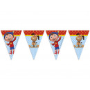 wholesale Business Equipment: Noddy flag banner  in the Land of Toys - 1 item