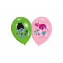 Trolls Birthday Balloons - 6 pcs.