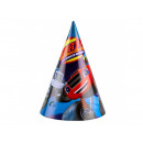 Blaze and Megamaszyna birthday hats - 8 items
