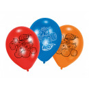 Blaze and Megamaszyna birthday balloons - 23 cm -