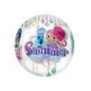 Foil balloon Shimmer and Shine Round - 40 cm - 1