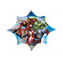 Foil balloon for Avengers stick - 27 cm - 1 pc