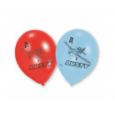 Birthday balloons Planes - 6 pcs.