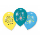Birthday balloons SpongeBob - 23 cm - 6 pcs