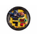 LEGO Batman Birthday Plates - 18 cm - 8 pcs.