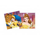 groothandel Food producten:Verjaardagsservetten Beauty and the Beast - 33 cm