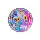 Shimmer and Shine birthday cake - 18 cm - 8 s