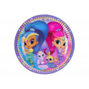 Shimmer and Shine birthday cake - 23 cm - 8 s