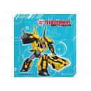 wholesale Party Items: Birthday Napkins Transformers Power - 33 cm - 2